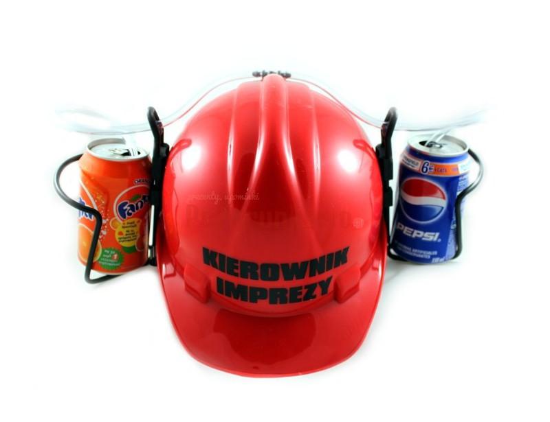 Imprezowy kask na piwo - Kierownik Imprezy