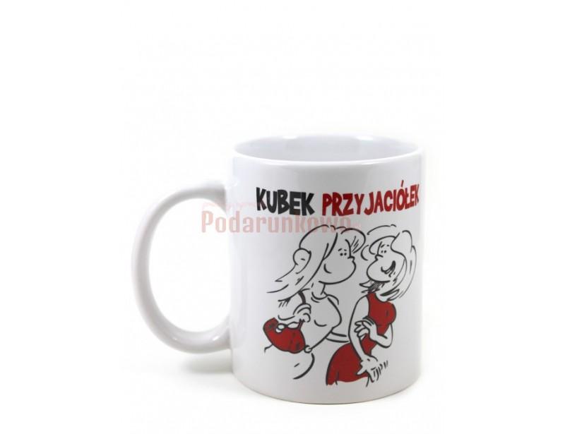 Ceramiczny kubek z humorystycznym nadrukiem na pewno spodoba się Twojej przyjaciółce.