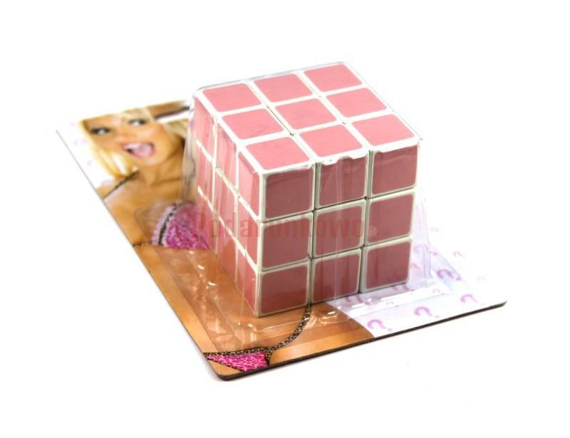 Specjalna kostka Rubika, którą z pewnością ułoży każda blondynka :)