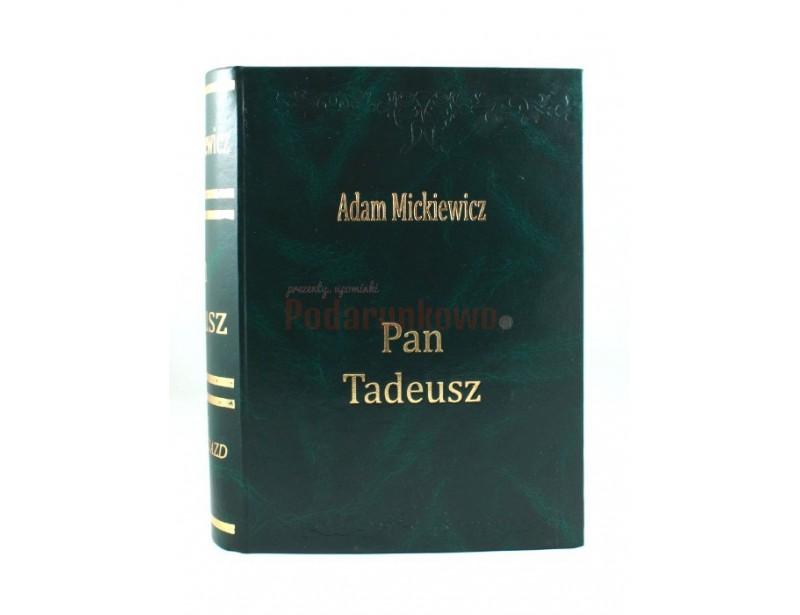 Książka na alkohol - Pan Tadeusz