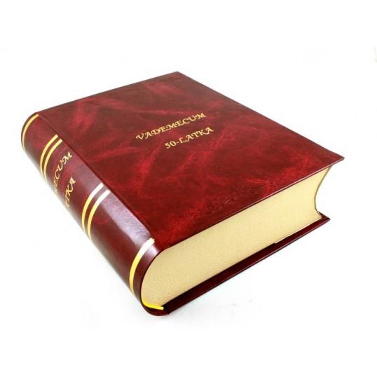 Książka na alkohol - Vademecum 50-latka