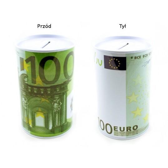 Puszka skarbonka - 100 Euro SP023