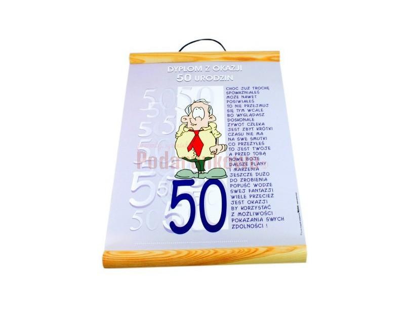 Dyplom Z Okazji 50 Urodzin Dla Niego