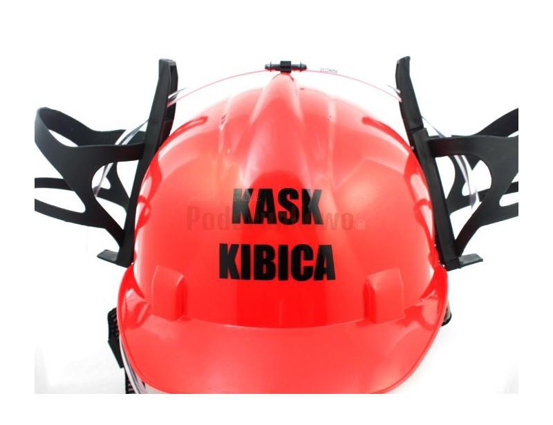 Imprezowy kask jest prezentowym hitem dla miłośnika i fana piłki nożnej !!! Prawdziwy kibic będzie takim upominkiem zachwycony :)