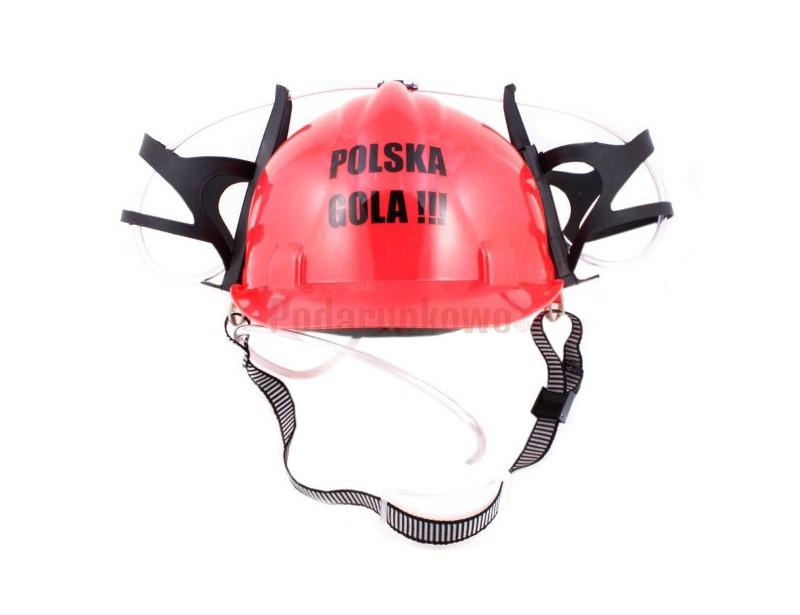 Imprezowy hełm będzie idealnym prezentem na 18-stkę i nie tylko!!! Kask z napisem Polska Gola!!! z pewnością przyda się każdemu solenizantowi na zbliżające się Euro 2012, aby wspierać polską reprezentację :)