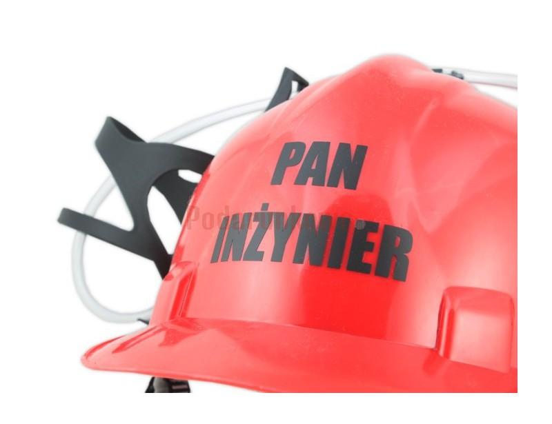 Imprezowy kask jest prezentowym hitem dla świeżo utytułowanego Pana Inżyniera !!! Każdy Inżynier będzie takim upominkiem zachwycony