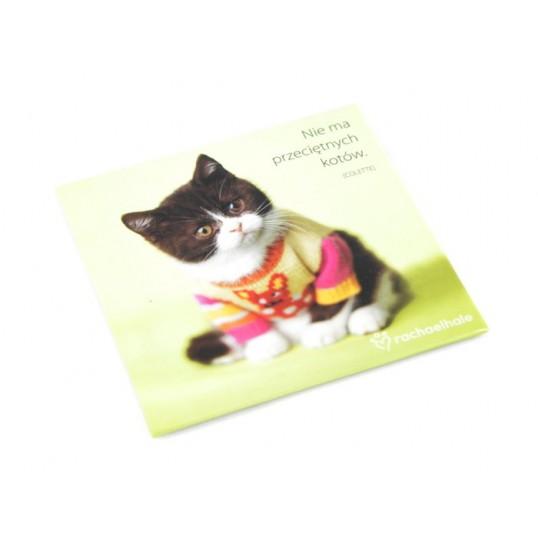 Magnes na lodówkę - Nie ma przeciętnych kotów