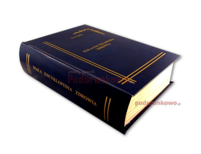 Książka na alkohol - Mała Encyklopedia Zdrowia