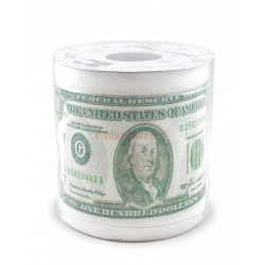 Papier toaletowy w dolary (wersja 2)