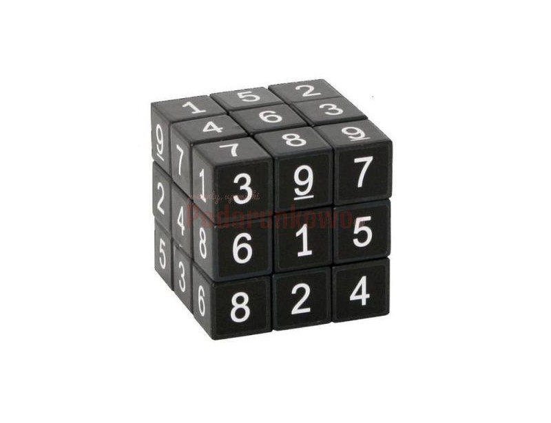 Kostka Sudoku to gra dla wielbicieli łamigłowek, którym zwykły rubik już nie wystarcza.