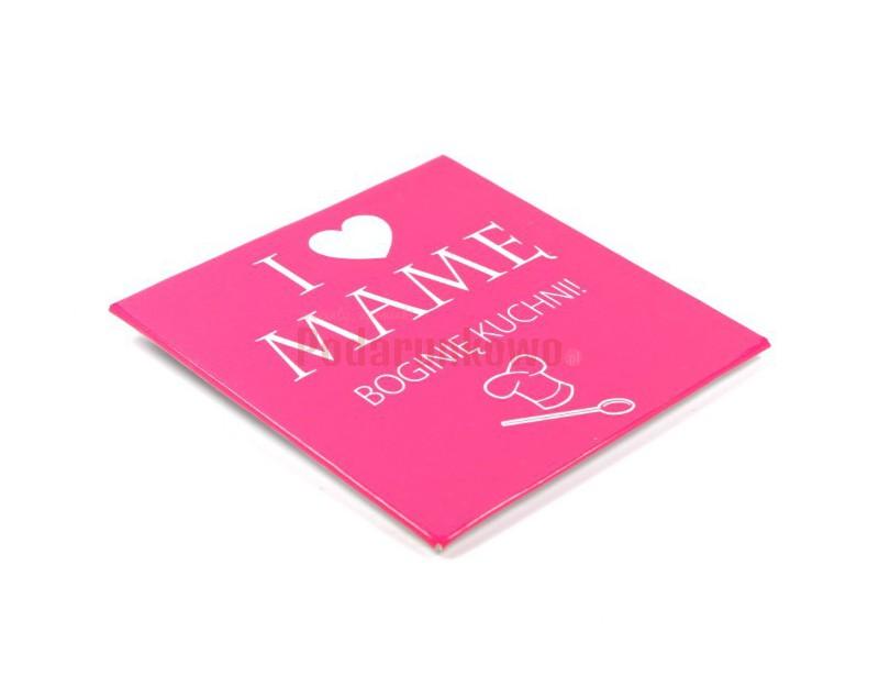 Magnes na lodówkę - I love Mamę