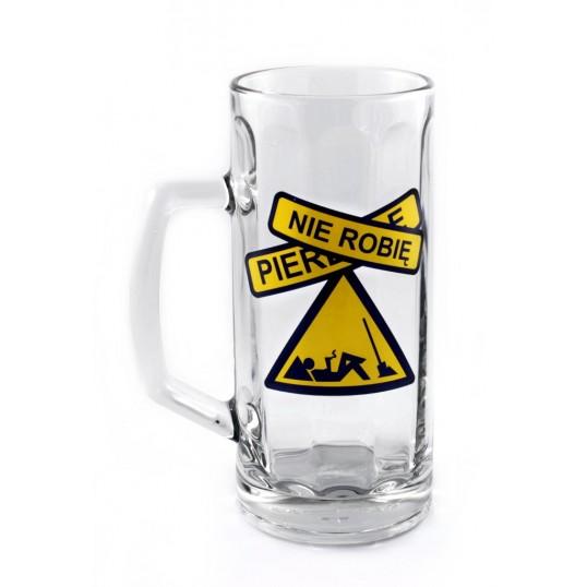 Kufel na piwo - Pierd.. nie robię