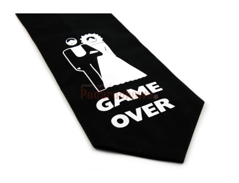 Krawat ze śmiesznym napisem jest świetnym pomysłem na prezent dla każdego mężczyzny ceniącego poczucie dobrego humoru i oryginalność upominków