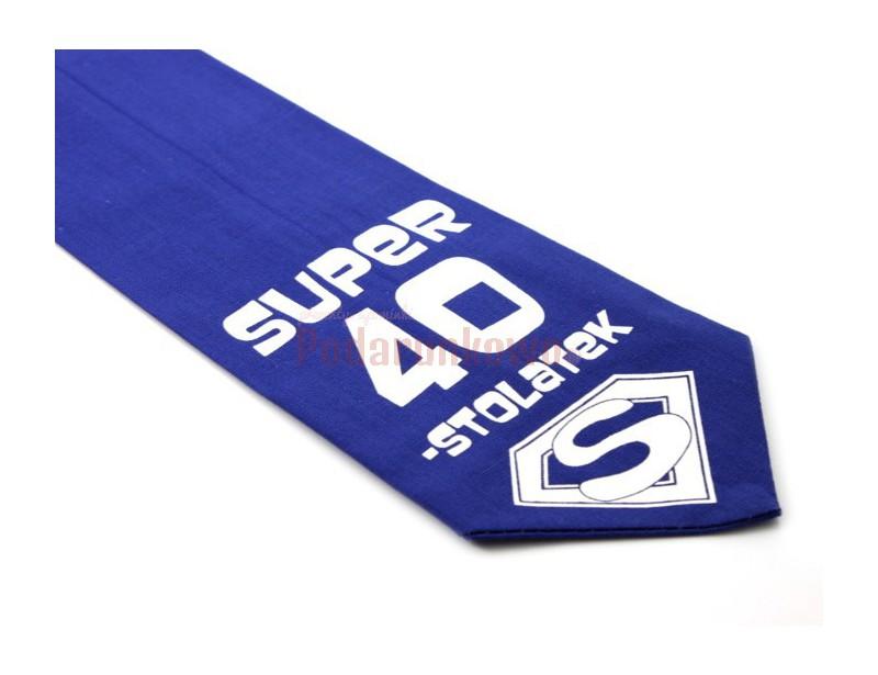 Krawat z humorem - Super 40-stolatek