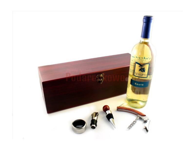 Akcesoria do wina w postaci skrzynki na wino nadają się idealnie jako prezent dla wszystkich miłośników wina, przyjaciół oraz jako ekskluzywny prezent dla partnerów biznesowych.