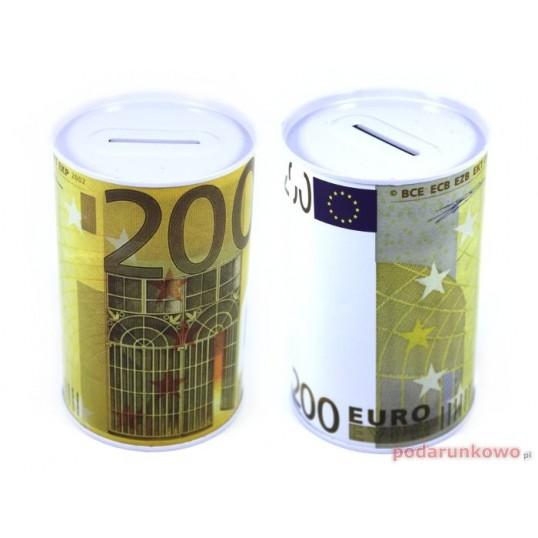 Puszka skarbonka - 200 Euro SP024