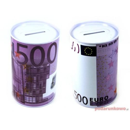 Puszka skarbonka - 500 Euro SP025