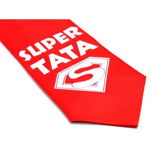 Krawat z humorem - Super Tata
