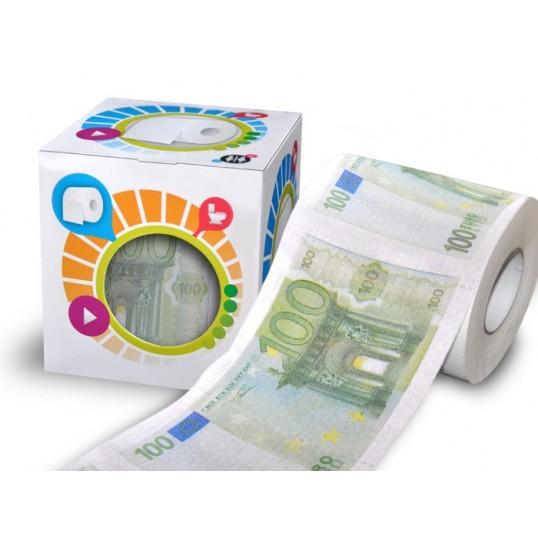 Papier toaletowy - 100 euro