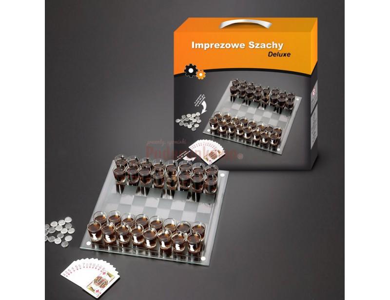 Alkoholowe szachy są wyśmienitym prezentem dla taty, dziadka, kolegi z pracy, kuzyna, narzeczonego, męża lub szefa :)