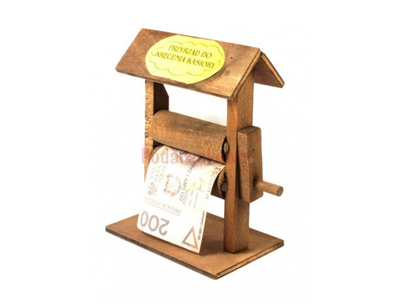 Przyrząd do kręcenia kasiory to super zabawny prezent z okazji urodzin lub imienin, zarówno dla kobiety jak i dla mężczyzny :)