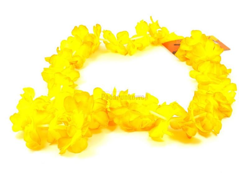 Rewelacyjne, kolorowe girlandy zobione ze sztucznych kwiatów będą znakomitym dodatkiem do kreacji na wieczór panieński lub na 18-stkę :)