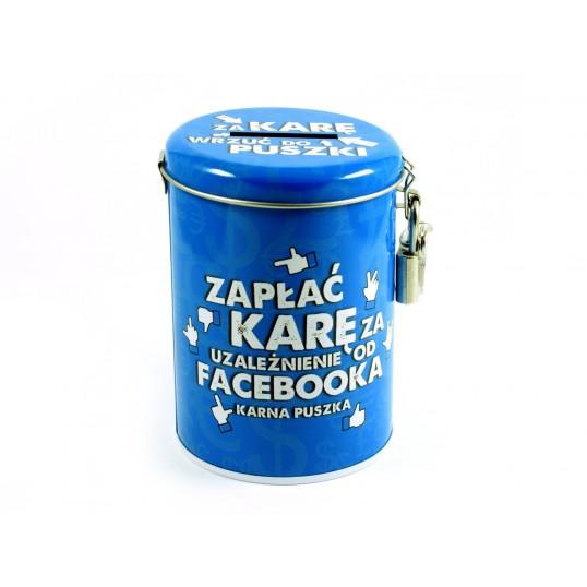 Karna Puszka Skarbonka - Zapłać za uzależnienie od facebooka