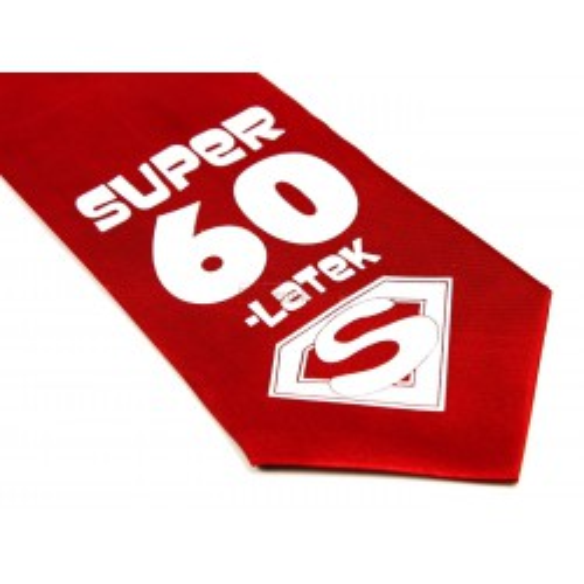 Krawat Super 60-latek