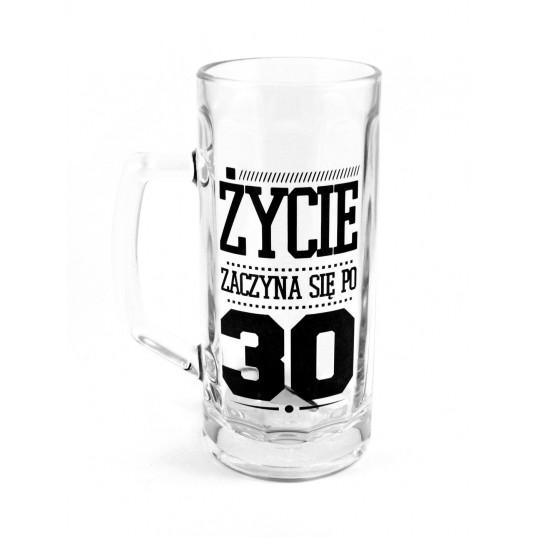 Kufel na piwo - Życie zaczyna się po 30-stce