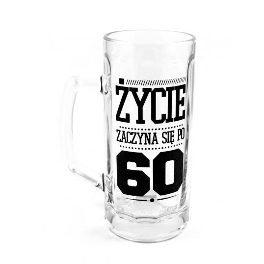 Kufel na piwo - Życie zaczyna się po 60-tce