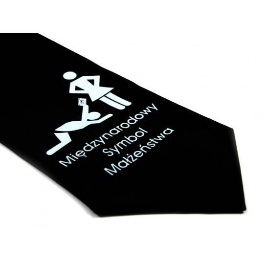 Krawat z humorem - Międzynarodowy Symbol Małżeństwa