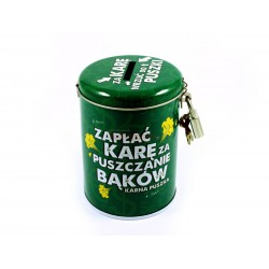 Karna Puszka Skarbonka - Zapłać za puszczanie bąków