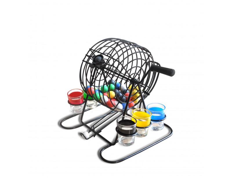 Imprezowe bingo umili czas spędzany w gronie znajomych i rodziny. Podczas wspólnej imprezy wystarczy wybrać swój kolor kieliszka, a następnie zakręcić korbką