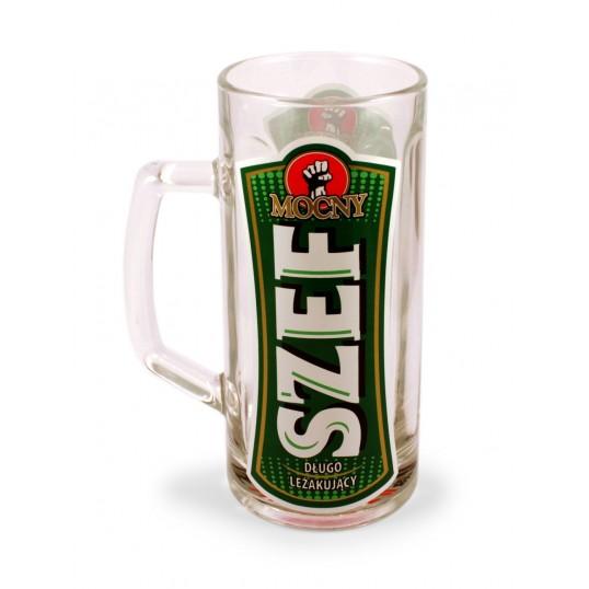 Kufel na piwo - Mocny Szef
