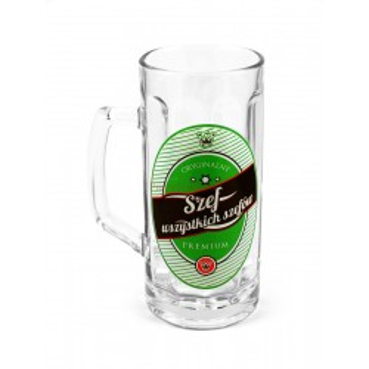 Kufel na piwo - Szef Wszystkich Szefów Premium