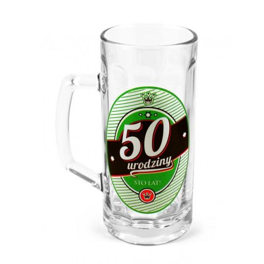 Kufel na piwo - 50 urodziny