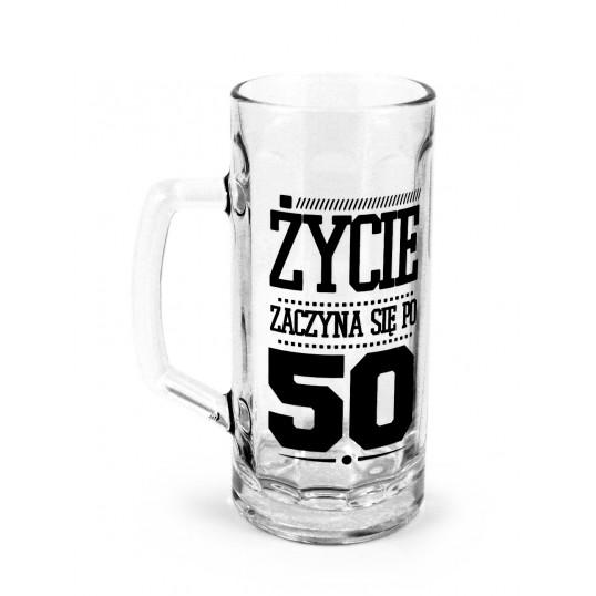 Kufel na piwo - Życie zaczyna się po 50