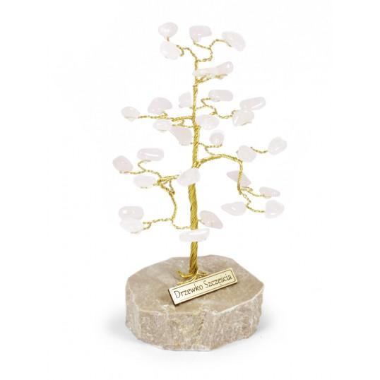 Drzewko Szczęścia - Kwarc Różowy
