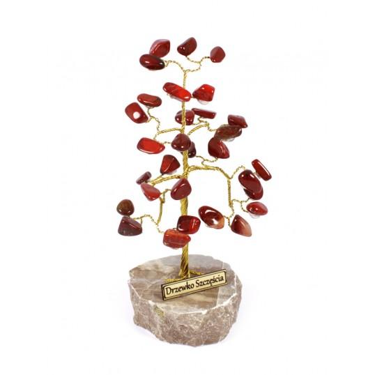 Drzewko Szczęścia - Jaspis Czerwony