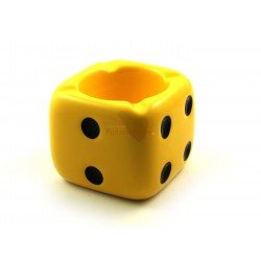 Popielniczka Kostka (żółta)