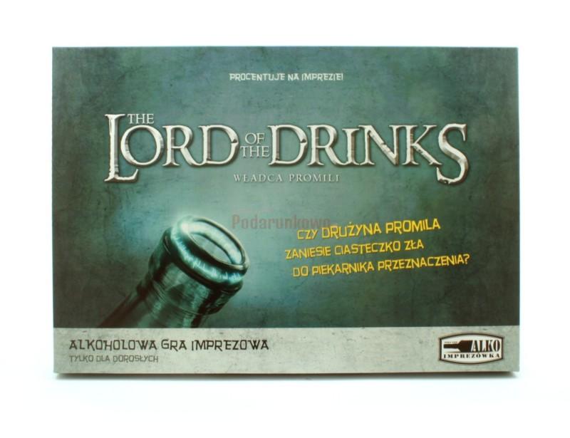 Władca promili to zestaw dwóch gier alkocholowych - niezbędny dodatek do 40% butelki na Twoją najbliższą imprezę :)