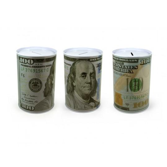 Puszka skarbonka - 100 dolarów