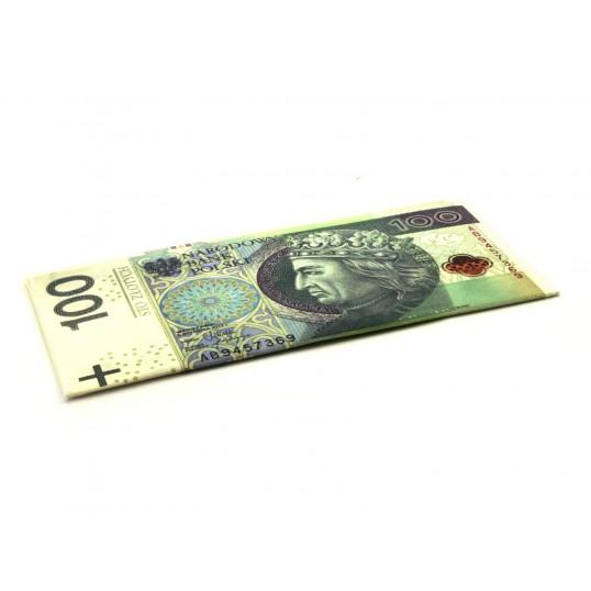Portfel w banknoty - 100zł
