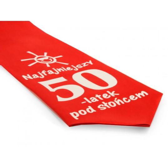 Krawat z humorem - Najfajniejszy 50-latek pod słońcem
