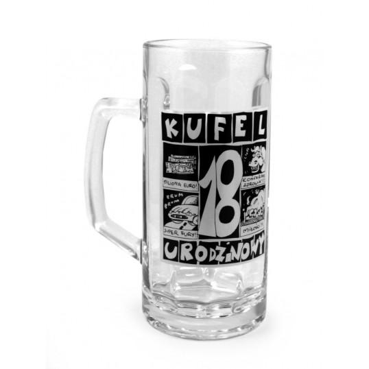 Kufel na piwo - 18 urodzinowy