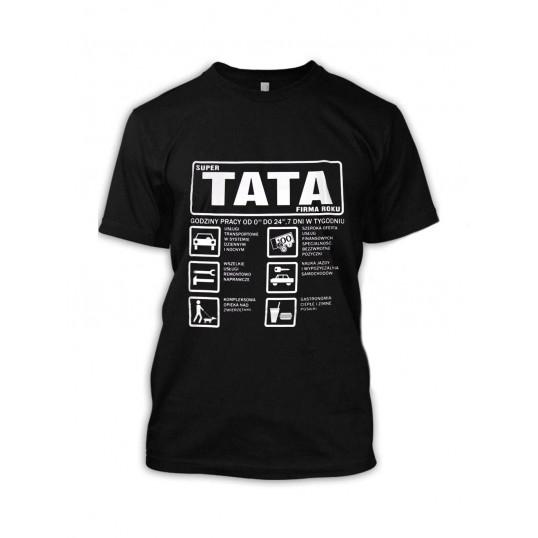 Koszulka - Super Tata - Firma Roku