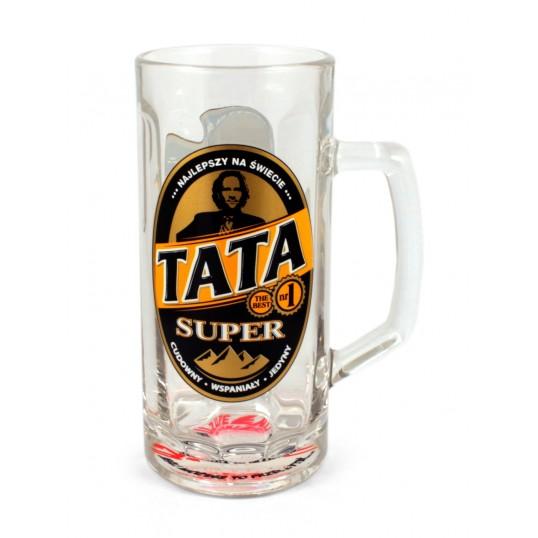 Kufel na piwo - Super Tata Najlepszy na świecie