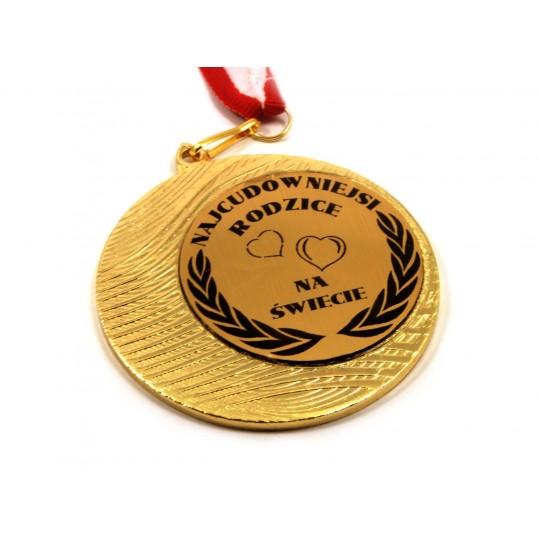 Medal Najcudowniejsi Rodzice na Świecie
