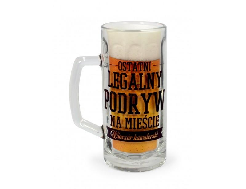 Kufel na piwo - Ostatni legalny podryw na mieście