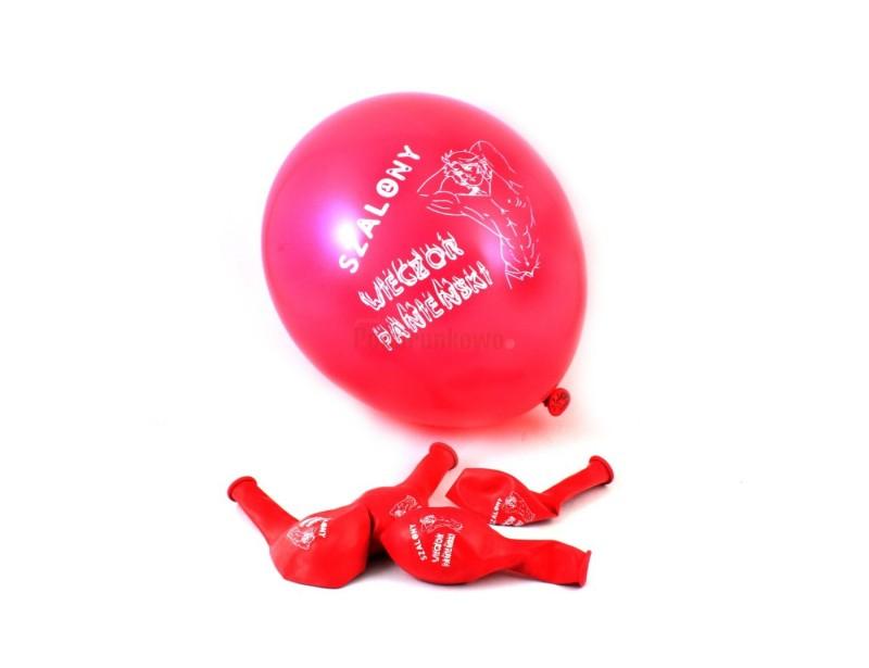 Śliczne, różowe balony z napisem wieczór panieński z pewnością przydadzą się na pożeganalną imprezkę przyszłej panny młodej :)